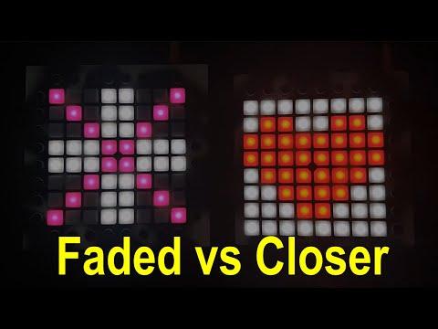 Faded vs. Closer (Launchpad Mashup) [HD]