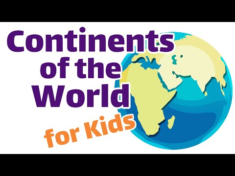 Continents of the World | First and Second Grade Social Studies For Kids