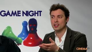 "John Francis Daley & Jonathon Goldstein (Director) Interview For ""Game Night"""