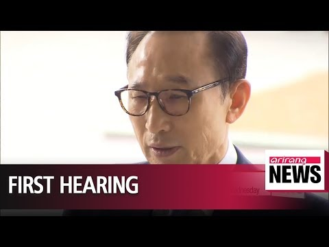 Ex-President Lee to appear at court as corruption trial begins