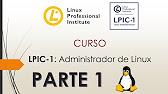 LPIC-1 Administrador de Linux (Examen 101 y 102)