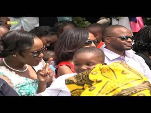 Citizen TV's Esther Kahumbi weds her love Ben Makori