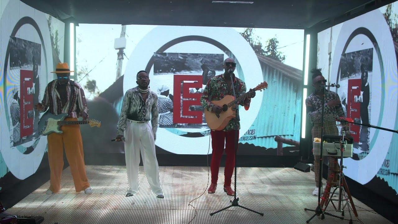 Download Sauti Sol -  Nenda Lote (Live Album Performance)