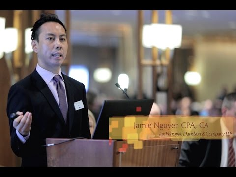 2016 TAX UPDATE I Changes to Small Business Taxation I Jamie Nguyen