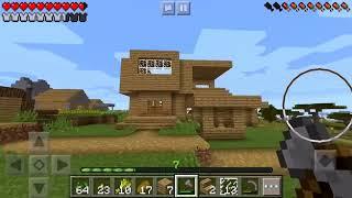 9 МЕГА ДОМ Выживание в Майнкрафте ПЕ 0.14.2 на телефоне. Minecraft PE для детей