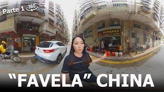 """360º - """"FAVELA"""" área POBRE em Shenzhen CHINA! COMO É, o que vai acontecer.  Parte 1"""