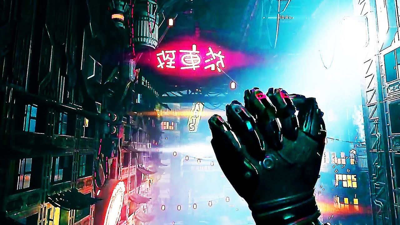 GHOSTRUNNER Gameplay Demo (2020) Cyberpunk Game - YouTube