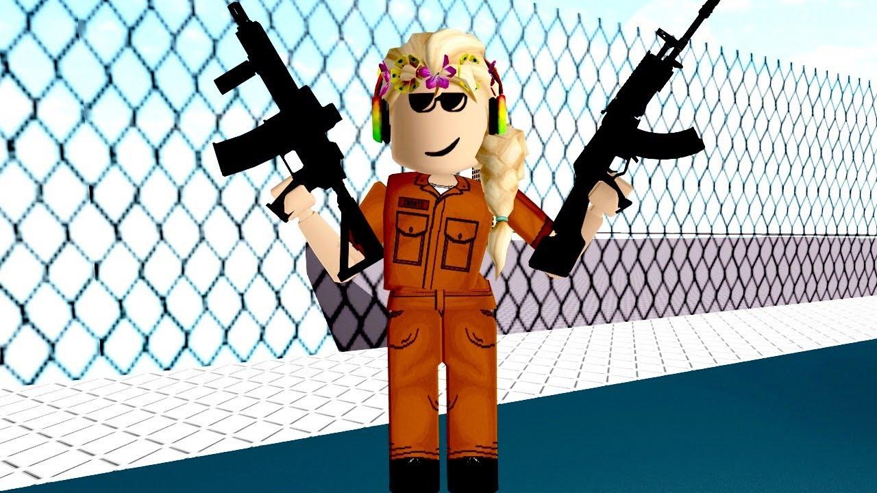 Roblox Got The Guns Jail Break Gamingwithpawesometv Youtube