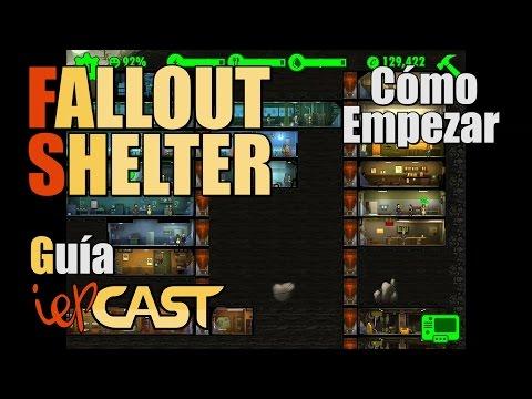 FALLOUT SHELTER - Guia - Cómo Empezar (Refugio brutal)