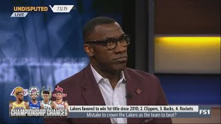 UNDISPUTED - Shannon Sharpe is sure Now the Lakers are favored over the Clippers