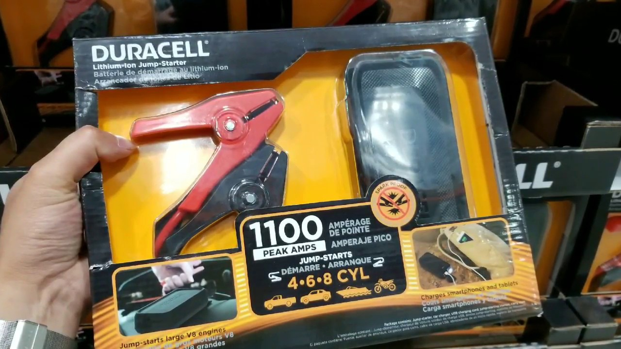 Costco Duracell Lithium Jump Starter Power Bank 69 Youtube