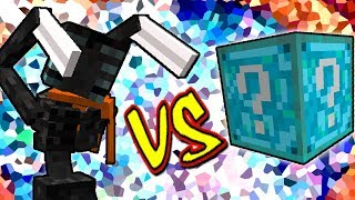 MORBID HARVESTER VS. LUCKY BLOCK DREAM (MINECRAFT LUCKY BLOCK CHALLENGE)