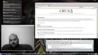 Crux Linux 3.0 First Impressions