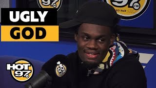 Ugly God Stops by to talk to Hip Hop Mike about new music and more on HOT97