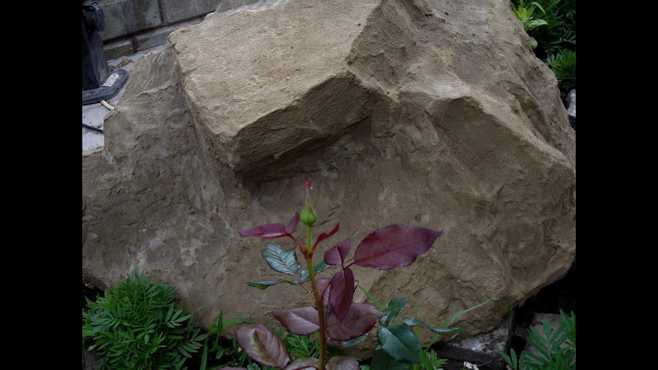 Камни из пены своими руками