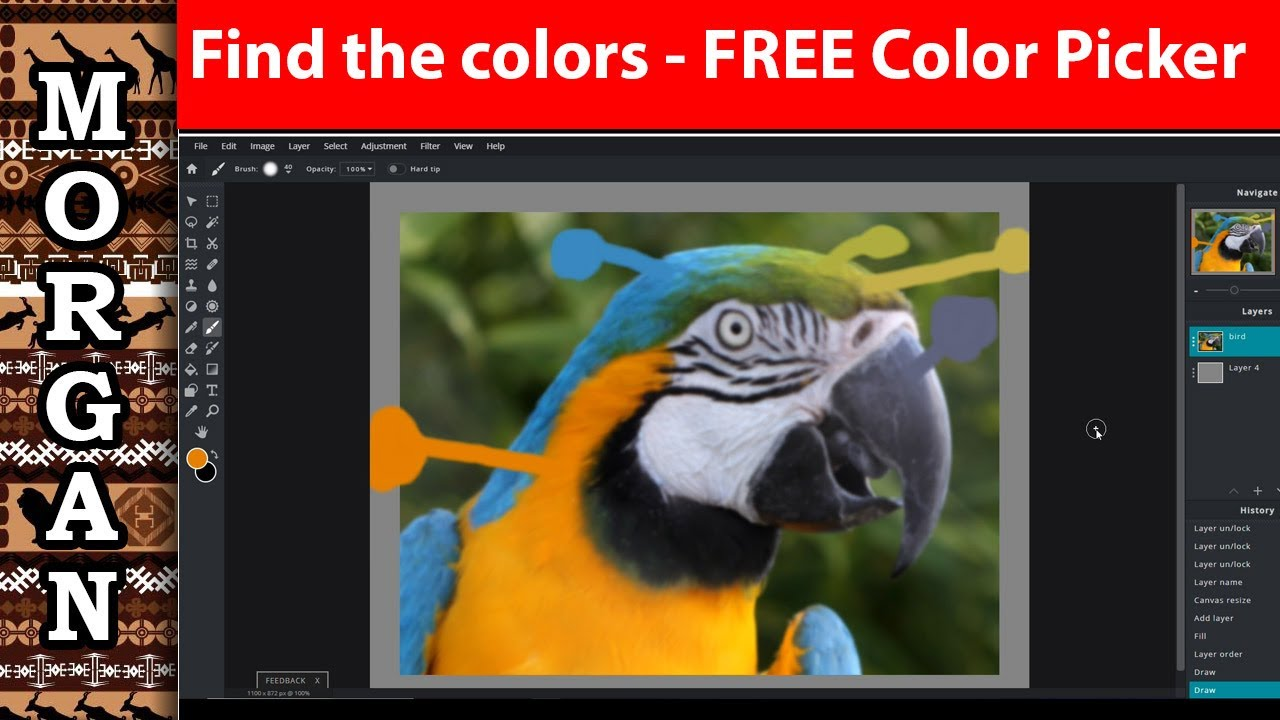 FREE - Color Picker for Artists - find your reference photo color