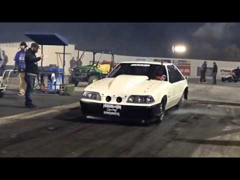 Street Outlaws Chuck Death Trap crashes vs Godfather at Redemption 6.0