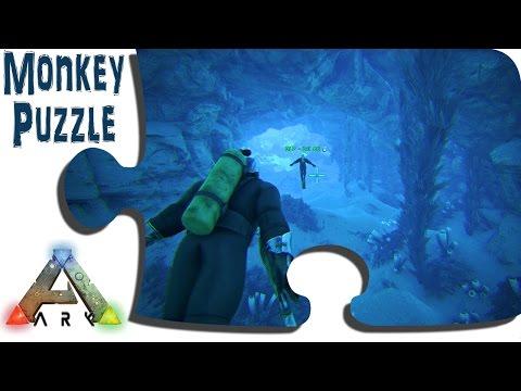 Exploring Ragnarok in Game - Ep13 - Underwater Passages - ARK Sponsored Map
