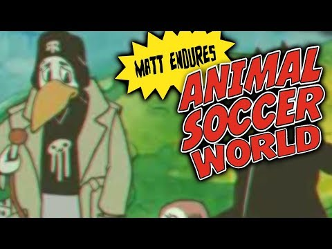 Matt Endures Animal Soccer World