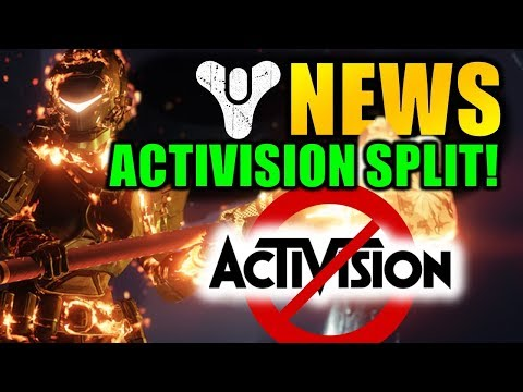 Destiny 2 News: ACTIVISION & BUNGIE SPLIT! - Bergusia Forge Controversy! thumbnail