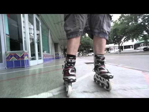 #59 Inline skating in down town San Antonio. 🏢🌇🌆🏣