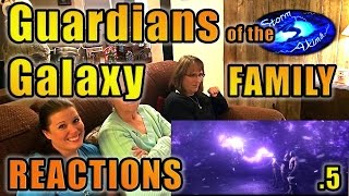 Guardians of the Galaxy FAMILY Reactions 5