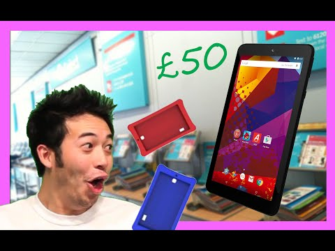 "Argos Alba Android 7"" Budget Tablet - Unboxing & Review"