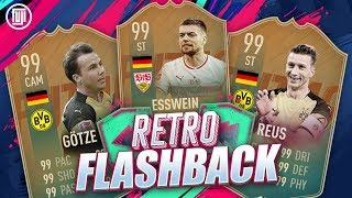 RETRO FLASHBACK!!! FLASHBACK ESSWEIN, REUS & GOTZE!!! - FIFA 19 Ultimate Team