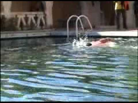 Alg rie piscine b ni abbes youtube for Piscine algerie