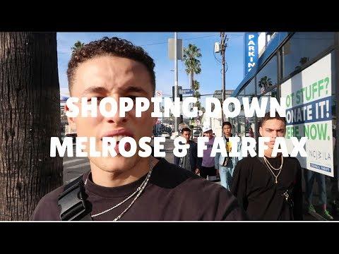 Shopping Down Melrose & Fairfax
