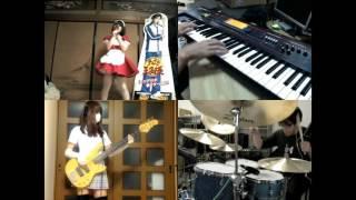 Gambar cover [HD]Neon Genesis Evangelion OP [Zankoku na Tenshi no These] Band cover