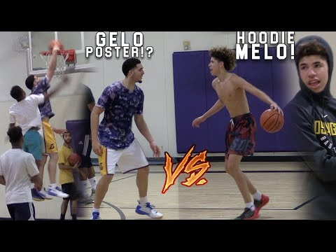 LiAngelo Ball Makes his RETURN vs LaMelo Ball! Gelo & Melo GO OFF!