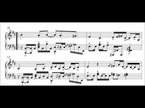 Maplestory BGM - Kerning City (Virtuoso Piano Solo) (Music Scores + MIDI)