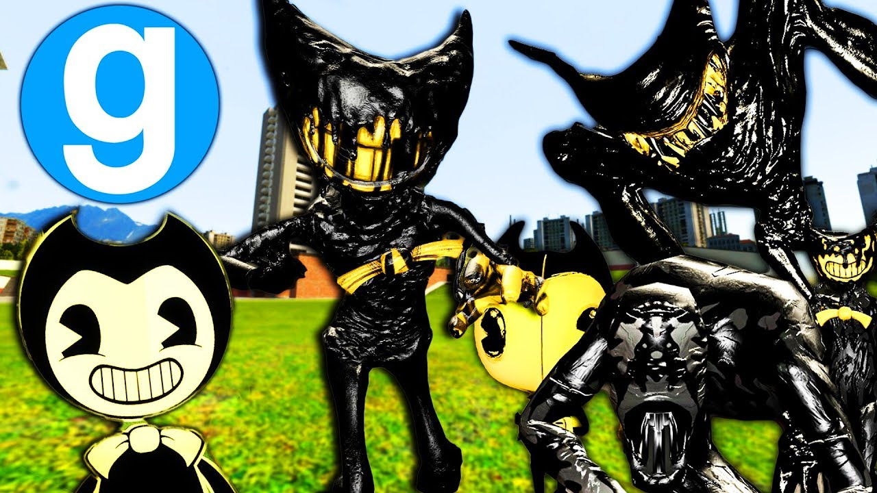 All New Bendy And The Ink Machine Npcs Garry S Mod Gameplay