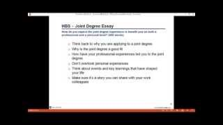 harvard mba essay tips 2010