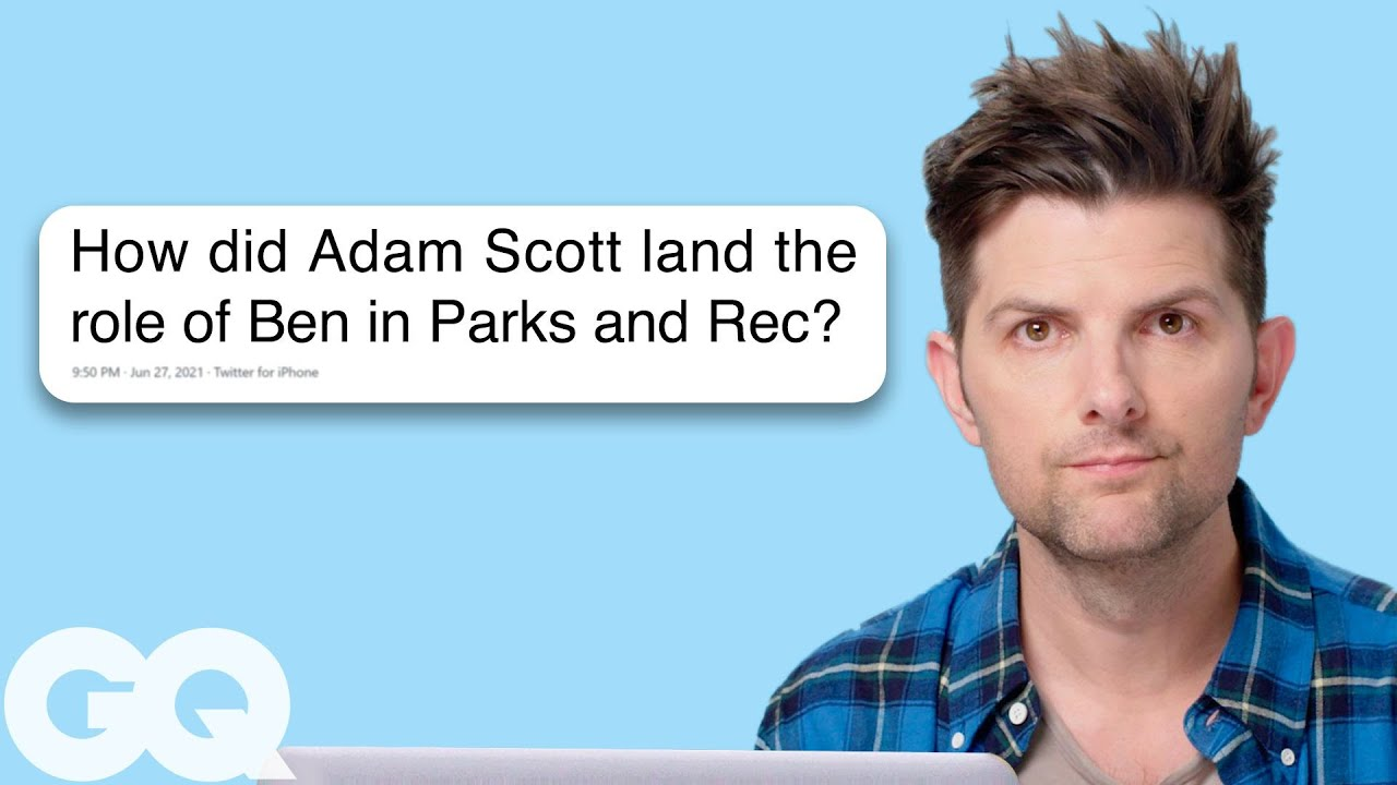Adam Scott Goes Undercover on Reddit, Instagram, and Twitter | Actually Me | GQ