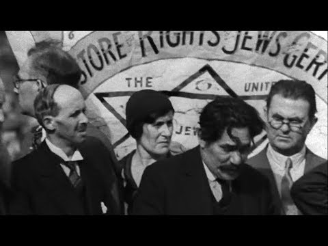 Anti-Nazi protest in London 1933 | BFI National Archive
