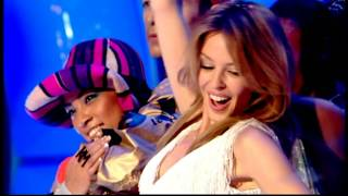 Kylie Minogue - The Minogue Medley (Live TOTP Christmas 25-12-2004) HD