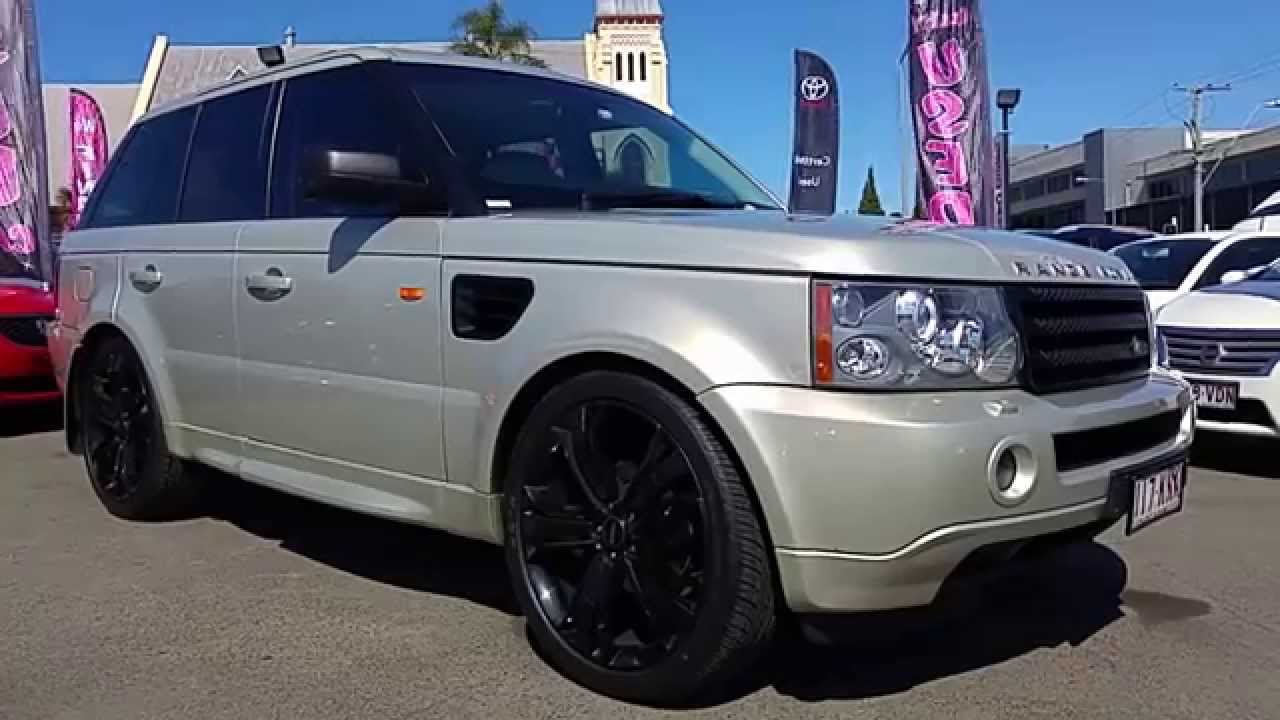 2007 range rover sport 2 7l v6 turbo diesel for sale at llewellyn motors youtube. Black Bedroom Furniture Sets. Home Design Ideas