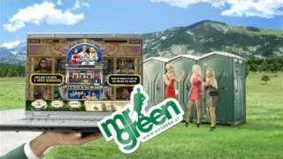 Gute Unterhaltung mit Mr Green!