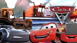 DEUTSCH GANZER FILM GAME CARS 3 Fabulous Lightning McQueen Disney Pixar Video Spiel Film