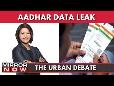 Aadhaar Data Leaked On Govt Portals | The Urban Debate With Faye D'Souza