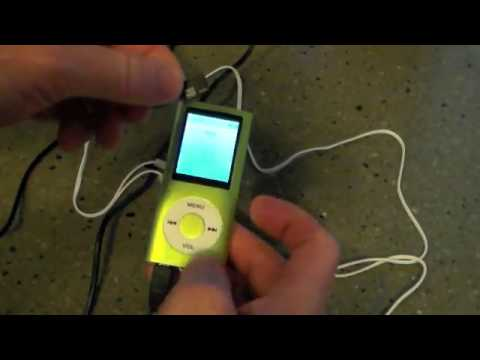 Tomameri Green Portable MP4 Player MP3 Player Video Player Review