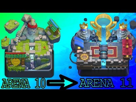 Clash Royale Greek {road to arena 11} επρεπε!!