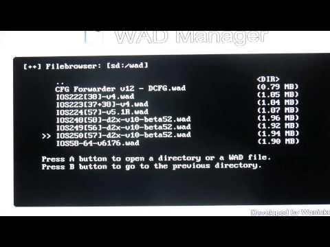 Como instalar configurable usb loader (cfg) para wii .
