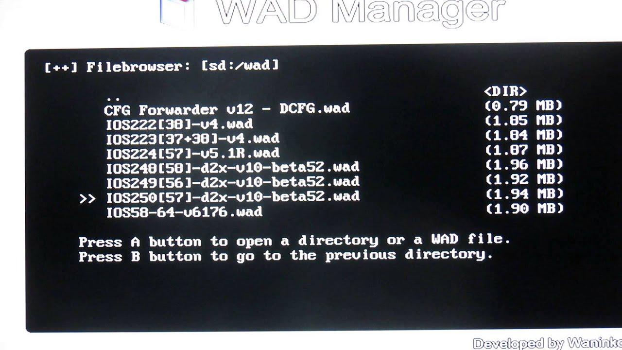 Como instalar configurable usb loader (cfg) para wii