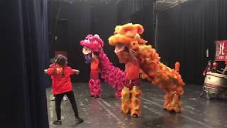 My Lion Dance students performing at the annual Chinese New Year Celebration!
