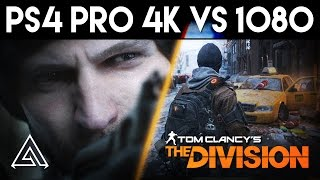 The Division | PS4 Pro 4K vs 1080p Gameplay Comparison