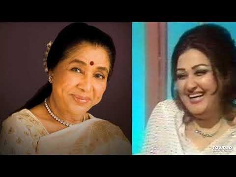 Noorjehan vs Asha bhosle   same ghazal   Aandhi chali toh