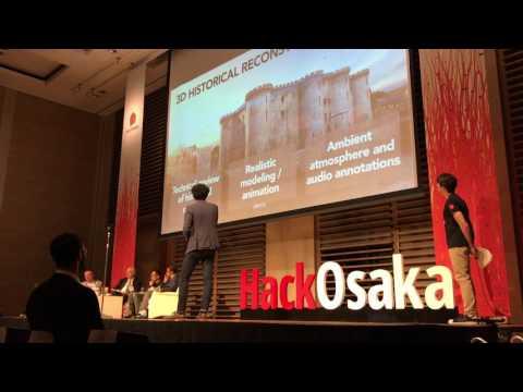 Hack Osaka 2017 - Hack Award Finalists: Timescope (Paris, France)